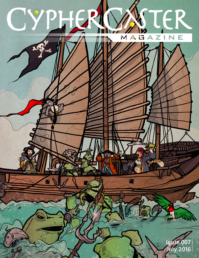 Seventh issue cover